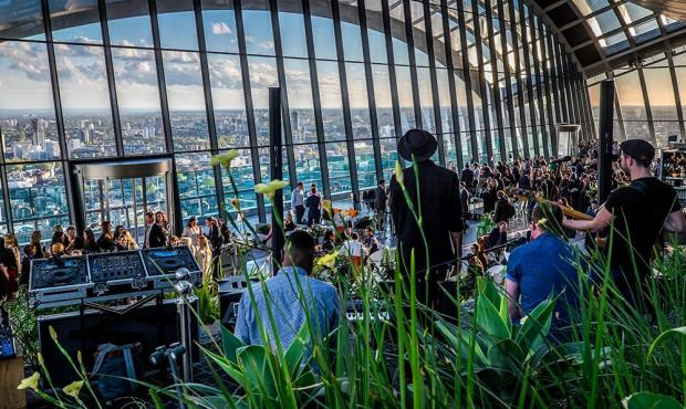 Sky Garden Events 29th April - 2MB10